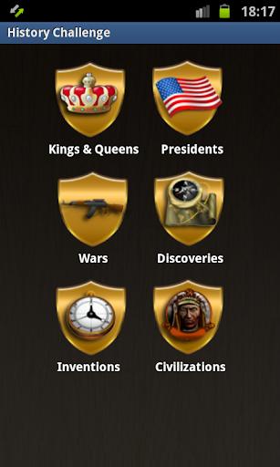 【免費益智App】History Challenge-APP點子