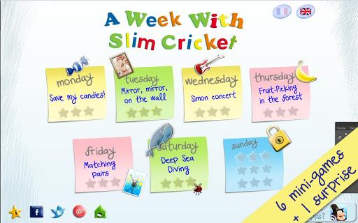A Week With Slim Cricket