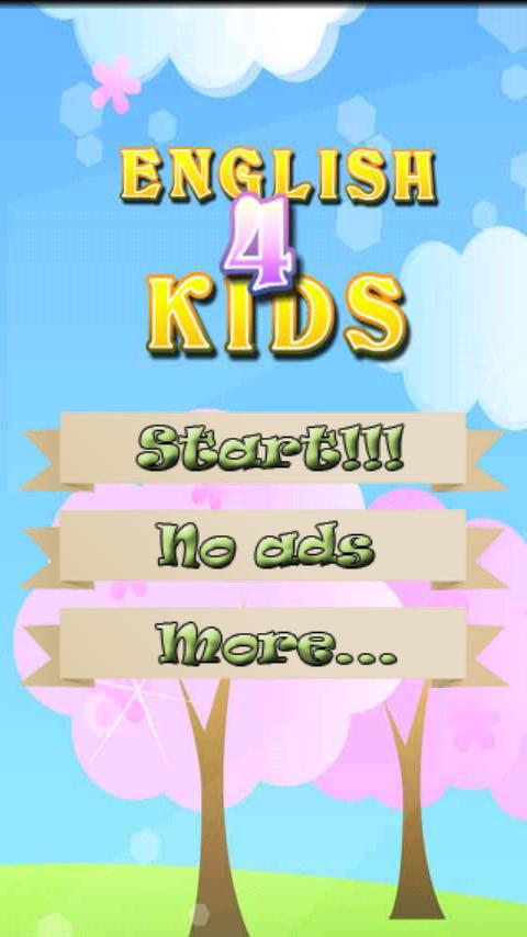 Inglés para niños ingles: captura de pantalla