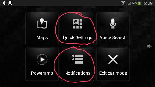 Notifications Shortcut