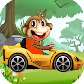 Monkey Car Jungle Racing
