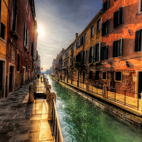 by Richard  Harris - Buildings & Architecture Homes ( venice, italy )