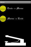Screenshot of Morse