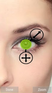 Eye Color Changer - Grid Pro- screenshot thumbnail