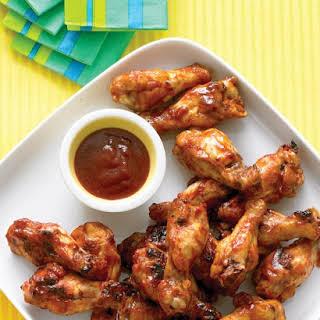 Brown-Sugar Barbecue Chicken Drumettes.