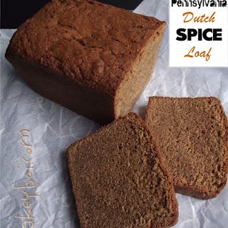 Pennsylvania Dutch Spice Loaf