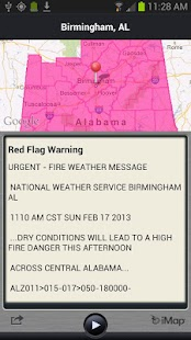 FLASH Weather Alerts - screenshot thumbnail
