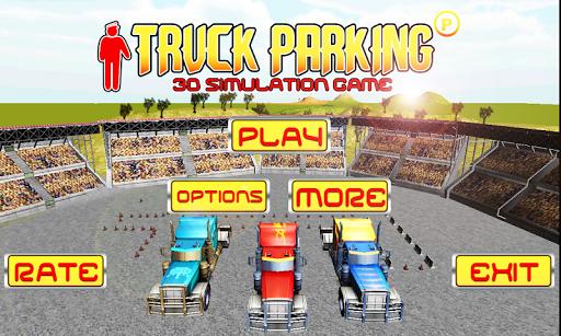 Truck Transporter Real Parking