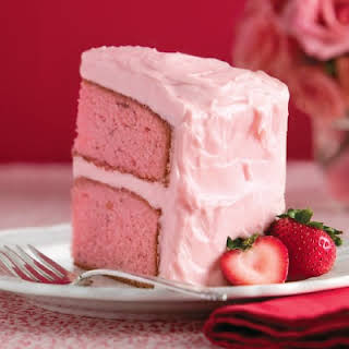 Strawberry Preserve Cake.