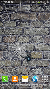 Spider Web - Live Wallpaper - screenshot thumbnail