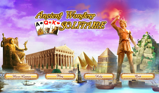 Ancient Wonders Solitaire Free- screenshot thumbnail