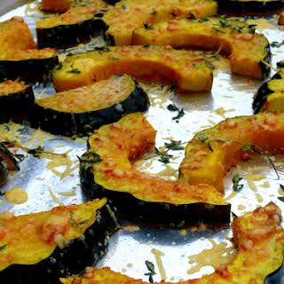 Parmesan-Roasted Acorn Squash.