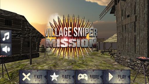 村の狙撃ミッション3D|玩動作App免費|玩APPs
