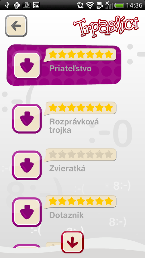 Trpaslíci- screenshot