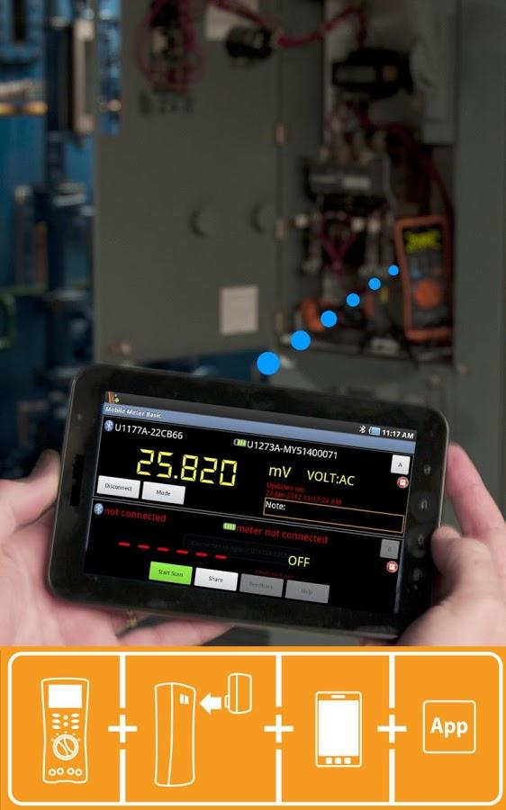 Keysight Mobile Meter- screenshot