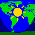 Daylight World Map logo