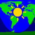Daylight World Map logo