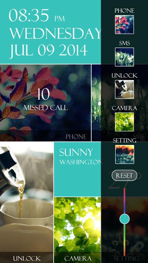 TIFFA GO LOCKER THEME - screenshot
