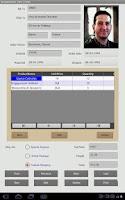Screenshot of Cellica Database(Internet)Form