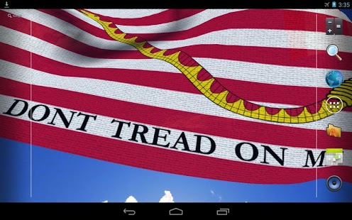 DONT TREAD ON ME (LWP Free) - screenshot thumbnail