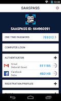 Screenshot of Two Factor Authentication 2FA