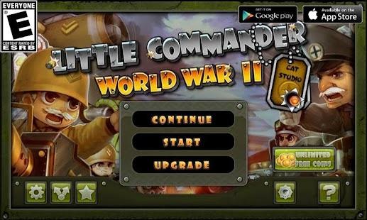 Little Commander - WWII TD Screenshot 13