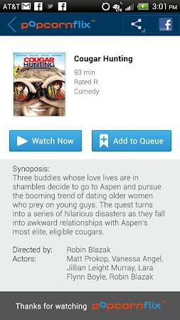 Popcornflix™-Great Movies Free 2.7 screenshot 206257