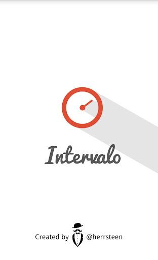 Intervalo - Intervall klocka