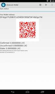 Librexcoin Wallet (Beta)- screenshot thumbnail