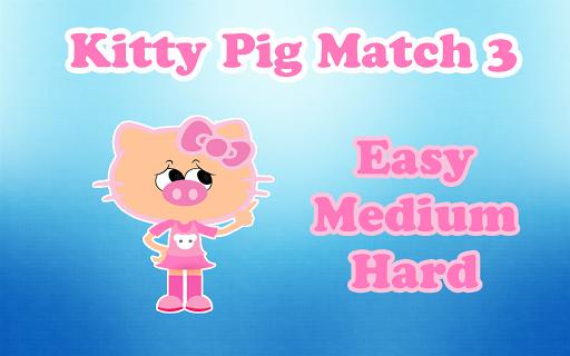 Kitty Pig Match3 Game Free
