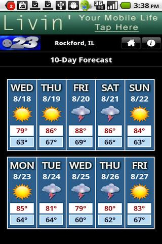 WIFR Weather - screenshot