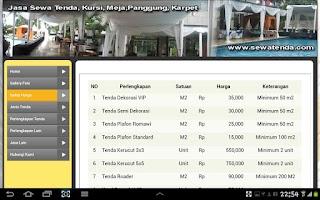 Screenshot of Sewa Tenda - Rental Tenda