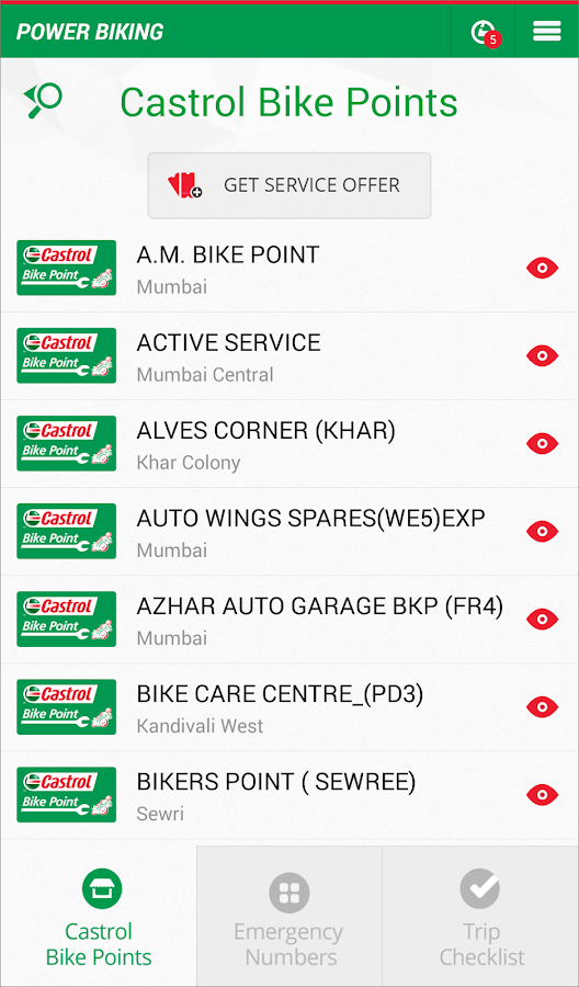 Castrol Power Biking- screenshot