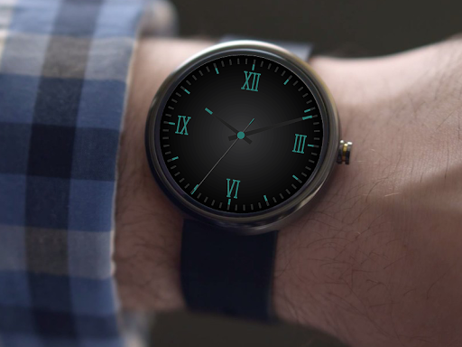Timeless-Aqua Watch Face