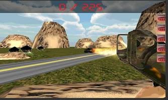 Screenshot of tank war hero  hunter