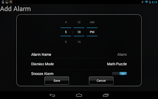 Screenshot of Alarm Puzzle Clock