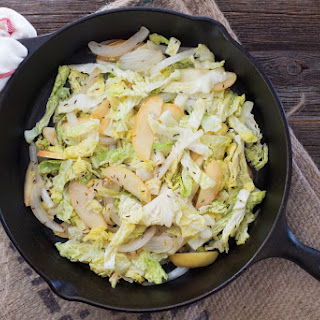 Cabbage with Apple and Onion