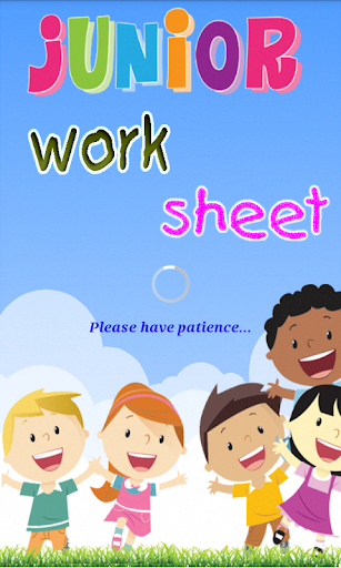 Kids Learning Game worksheet