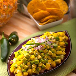 Avocado Salsa {3 Ways} Pineapple & Cucumber Guacamole Recipe