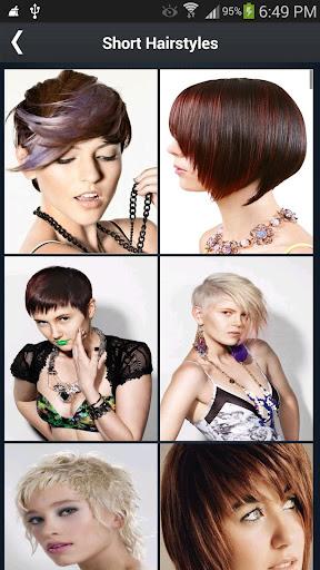 Hair styles short Steps