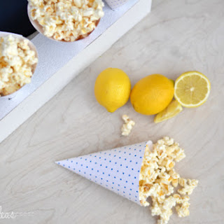 Amazing Lemon White Chocolate Popcorn