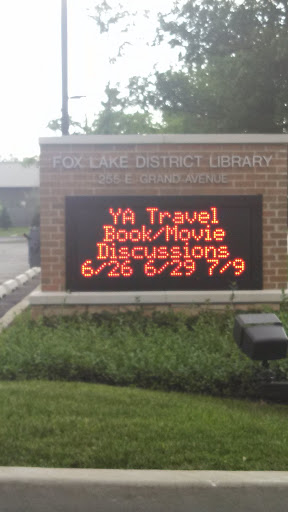 fox lake public library hours - 288×512