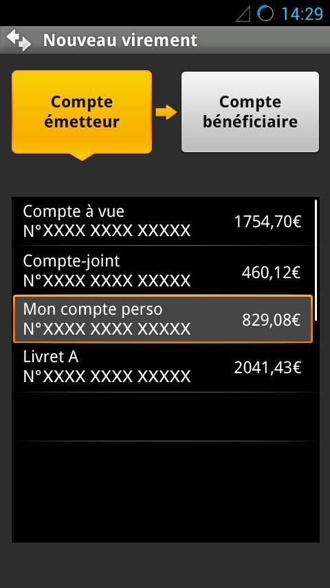 L'Appli Société Générale - screenshot