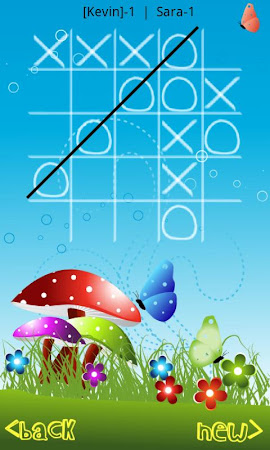 Tic Tac Toe in Blue Sky 7.0 screenshot 1723740