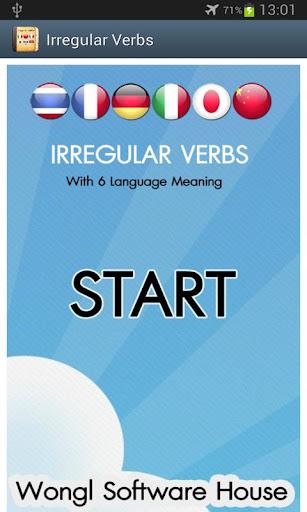 Irregular Verbs 6 Language