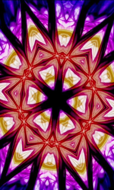 Kaleidoscope Live Wallpaper- screenshot