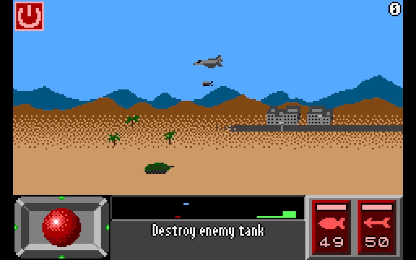 Super Pixel Jet Fighter- screenshot