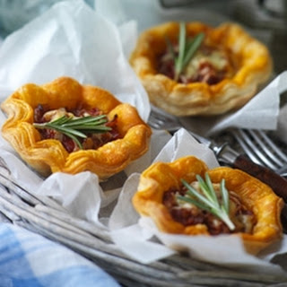Cheddar Tartlets With A Hint Of Chilli