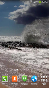 Ocean Waves Live Wallpaper HD2