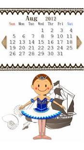 バレエカレンダー- スクリーンショットのサムネイル